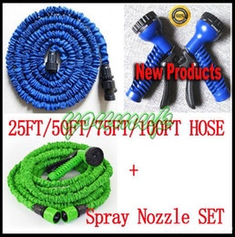 Wholesale Expandable 75ft - Expandable & Flexible Water Garden Hose, hose flexible 25FT 50FT 75FT 100FT