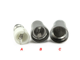 Wholesale E Cig Coil Tank - Rich Style Glass Globe Atomizer Coil Head Wax Vapor Atomizer Core Dry Herb Vaporizer Coil Head for replacement e cig tanks E Cigarette