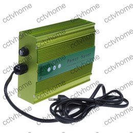 Wholesale Power Saver Save Electricity - 90V-250V Up to 35% Saver 50KW Power Electricity Saving Box Energy Saver metal case US EU UK AU Plug