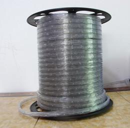 светодиодные лампы для кемпинга Скидка Оптово-Бесплатная доставка 33 'Spool 3 Wire LED Flat Rope Lights 110V / 220V Четыре цвета Изменение 10M с контроллером