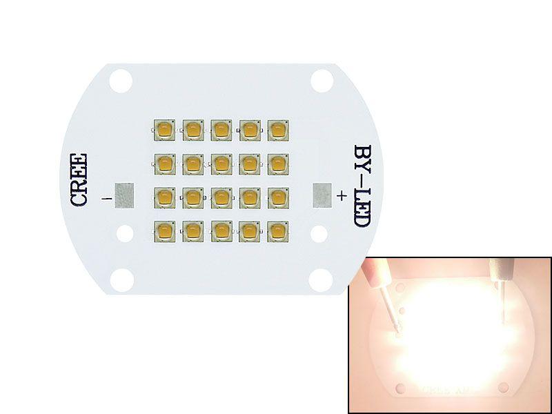 CREE XP-G2 XPG2 100W Módulos LED blanco cálido 3000k - 3500k / blanco 6000k - 6500k Luz LED Lámpara de luz Bead 30-36V 3A