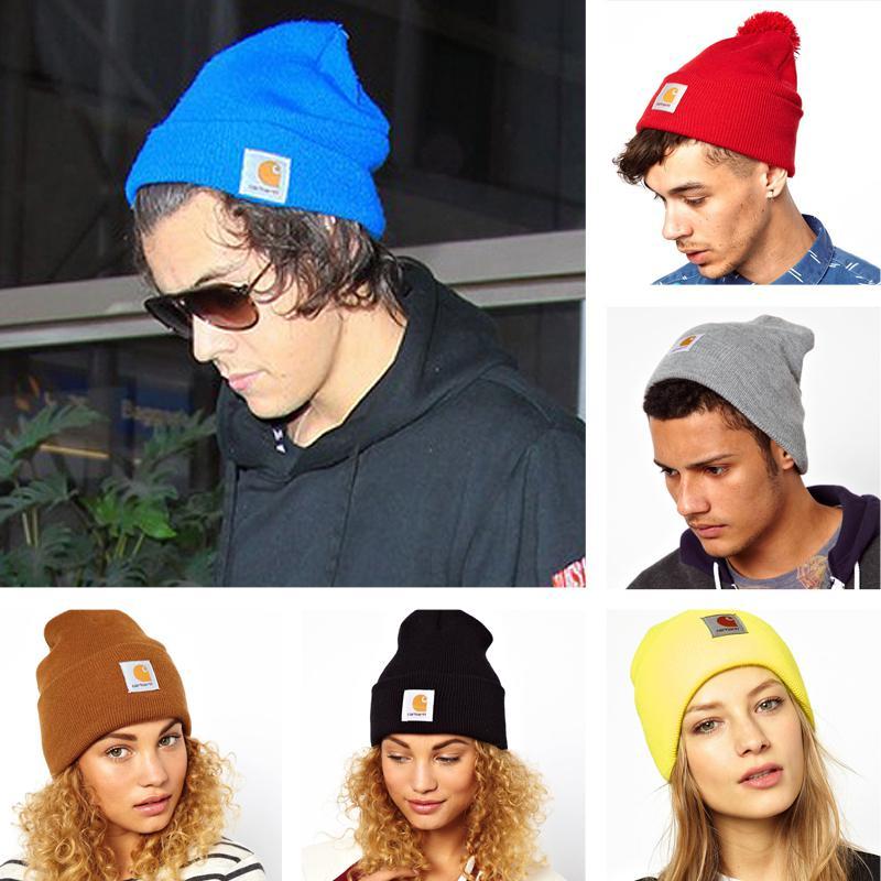 b0c1914293b 2014 Knitted Women Men New Fashion Autumn Winter Hat