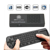 Wholesale Mini Pc Android Hdmi Keyboard - MK808B Android Dual Core 8G RK3066 Mini PC TV Box Stick Keyboard Mouse Rii I8 from kakacola shop