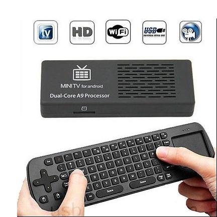 MK808B Android Dual Core 8G RK3066 Mini PC TV Box Stick Клавиатура Мышь Rii I8 от kakacola магазин