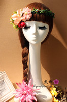 Wholesale Mannequin Heads For Jewelry - Mannequin Manikin Female Long Neck Head Stand Model for Wig hair Glasses Hat Jewelry Display NO.51