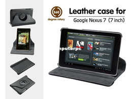 Wholesale Nexus Skin Stand - New 360 Degree Rotating Stand Case Cover Skin for For Google Nexus 7 1st Gen