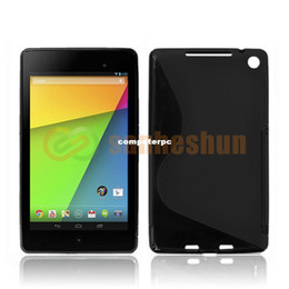 Wholesale Nexus S Covers - Cheap ! Unique S-line Designer Soft TPU Gel Silicone Cover 7 Inch Tablet Case For ASUS Google Nexus 7 2nd 2 Gen Free shipping