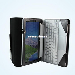 Wholesale Iconia Keyboard - High Quality Products For Acer Iconia Tab W510 Portfolio Leather Cover Stand Case w  Keyboard Holder (Keyboard is not included)