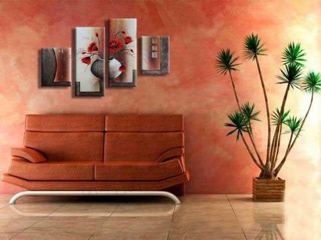 spedizione gratuita !!! Pittura a olio dipinta a mano 100% dipinta a mano su tela, arte della parete di 4 pezzi, decorazione domestica superiore, HH4001