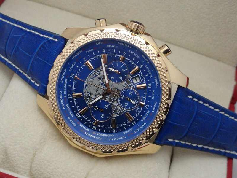 dial chronograph watch watches mens tissot leather blue strap s products quartz quickster with men