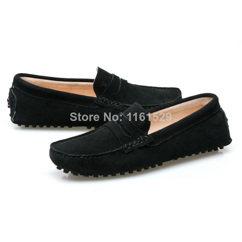 Dress Rubber Slip On Shoes Mens