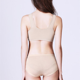 Wholesale Bras 42c - mastectomy cotton bras ladies sexy panty and bra sets sex under wear for breast cancer woman