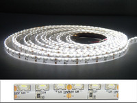 Trasporto 5M 600 pc 335 Led Light Ribbon Vista laterale Emissione del caldo / luce bianca 48W 12VDC IP55 LED Strisce Natale