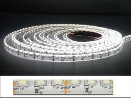Wholesale Side Emitting Led Lights - Free Shipping 5M 600 pcs 335 Led Light Ribbon Side View Emitting Warm White Light 48W 12VDC IP55 LED Strips Christmas