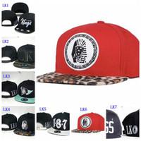 Wholesale Lk Snapback Hats - EMS Free shipping New arrival Last Kings Snapback Hats many colors LK caps leopard last kings cap Adjustable hats Mixed Order High Quality
