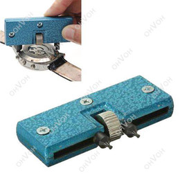 Wholesale Watch Case Back Closer Press - S5Q Watch Adjustable Tool Opener Back Case Press Closer Remover Repair Watchmaker AAACWQ