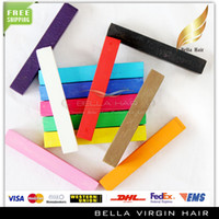 Wholesale Hair Temporary Chalks - Hot Sale 24 Colors Hair Dye Color Chalk Fashion Hot Fast Non-toxic Temporary Hair Chalk Dye Soft Pastel Hair Styling Tools Free Shipping