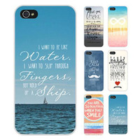 Wholesale Quote Iphone 4s Case - S5Q Quote Retro Stripes Chevron Case Hard Case Cover Back Skin For iPhone 4S 4 AAACXX