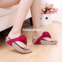 Wholesale Slimming Slippers - Women slippers,slippers,women sandals,sandals,2014 new style fashion bring flower flip flops platform slimming shoes--SYBK0019