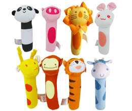 $enCountryForm.capitalKeyWord Canada - Free shipping new cute style pet dog puppy playing toys sound paper plush toys for pet eight styles 10pcs lot