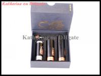 cigarette électronique cuivre mod achat en gros de-Stingray Mod noir mécanique Mod noir cuivre clone Stingray Mod pour la cigarette électronique Kits de batterie de cigarette électronique E tube DHL gratuit
