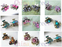 Волосы застежки PONY ХВОСТОВАЯ ДЕРЖАТЕЛЬ Hair Band Scrunchy Claw clips Polar Bows 100pc / lot new