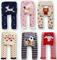 Wholesale Lowest Baby Girl Tight - PP PANT Baby Leggings toddler Tights boys pants socks girls Leg warmmers 39pair lot LOWEST PRICE