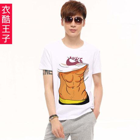 Prince Of Cool T Shirts Clothing Muscular Abs Cartoon Character ...