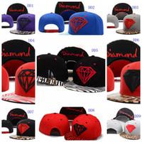 Wholesale diamond backs hats for sale - Group buy Diamond Snapbacks Hats Snapback Hats Caps Men Women hot sale Snapbacks Adjustable Diamond supply co Snap back cap Mix Order Top Quality