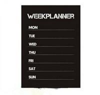 pegatinas de animales memo al por mayor-Planificador semanal Calendario MEMO Pizarra Pizarra pared del vinilo de la etiqueta engomada WHM