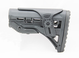 Wholesale Gl Shock Buttstock - Tactical FAB Defense GL-Shock Absorbing Buttstock for M4 M16 Black