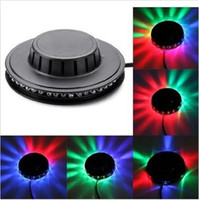 New 8W 48 LED 90-240V Auto Voice Activated LED RGB Mini-Bühne Lichteffekt Stab-Partei-Disco DJ Bühnenbeleuchtung