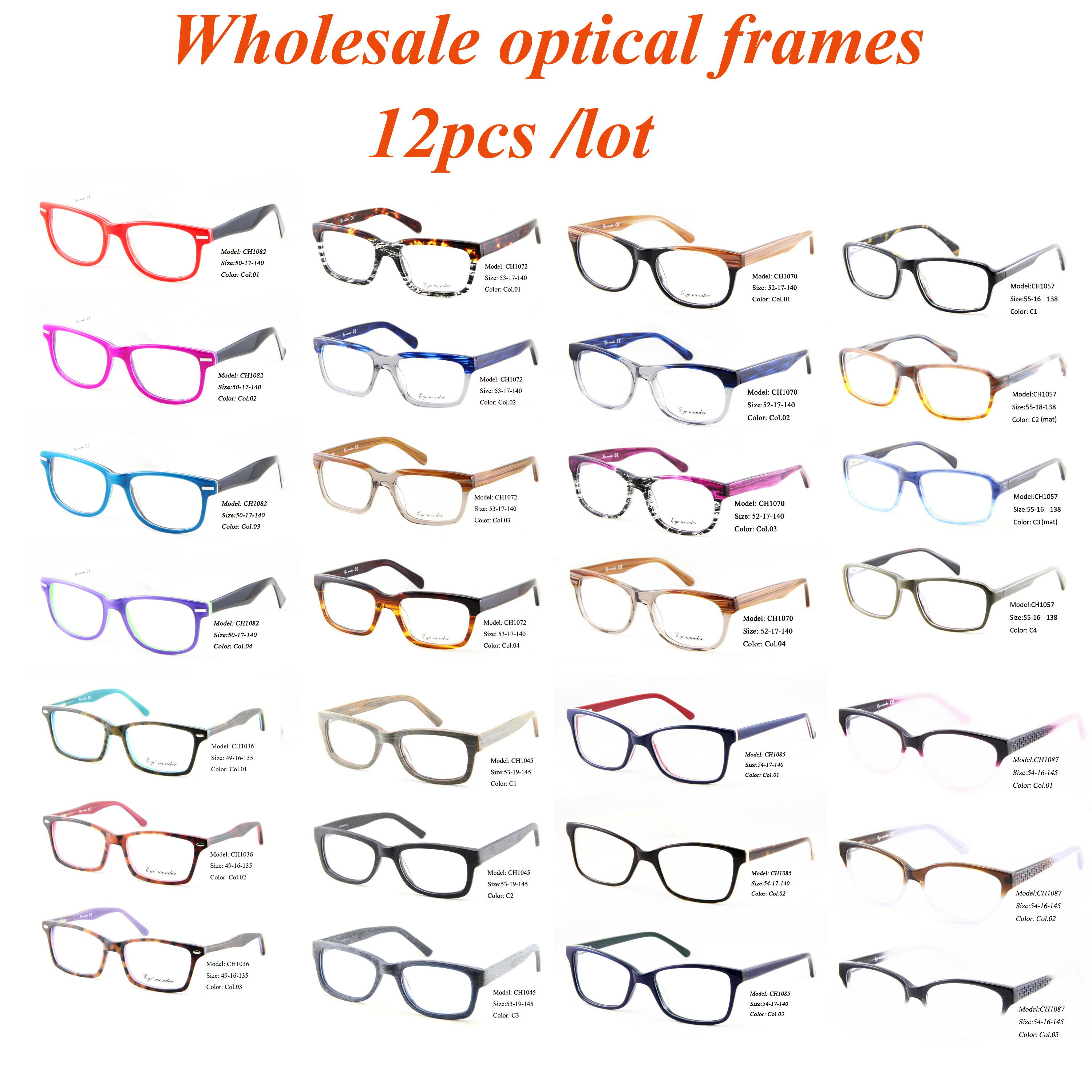 Wholesale Fashion Optical Frames For Men Women Retro Cat Eye Glasses ...