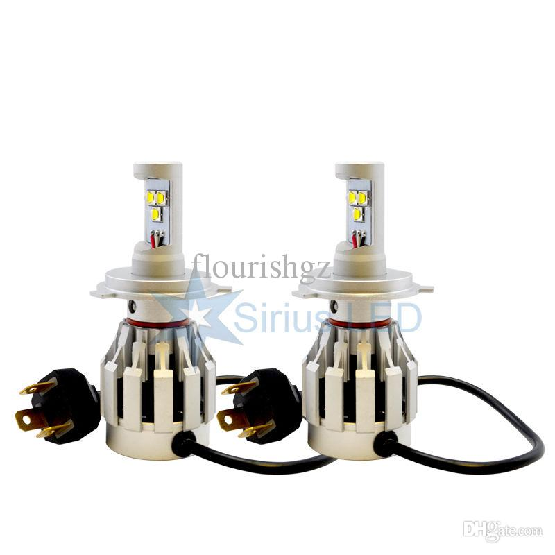 H11 60W CREE Gold Yellow LED Headlight All In One XM-L2 SMD Universal 12V/24V 3000K 4000lm Built-in Heat Dispense Fan Mix 9005 9006