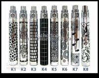 Wholesale Ego K Batteries - Ego k Battery Ego Battery for Ego Electronic Cigarette E-cigarette E-cig Kits 650mah 900mah 1100mah Battery 8 Colors Mixed Colors Available
