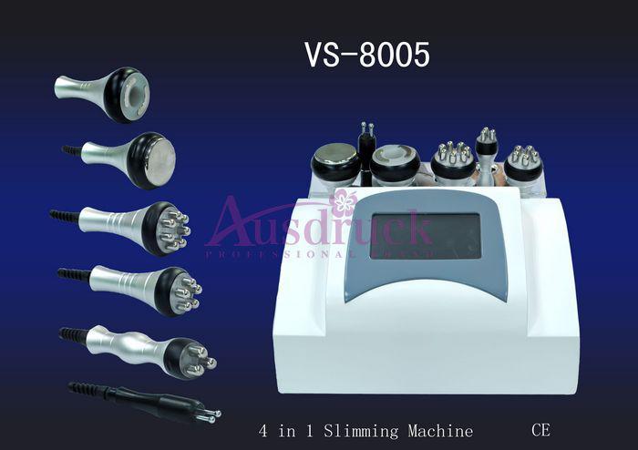 Лучшая цена BIO Vacuum RF Ультразвуковая 40K кавитация для похудения Удаление морщин Радиочастота кожи лица подтянуть косметологическое оборудование
