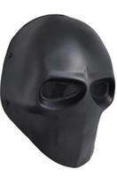 Wholesale Halloween Airsoft Mask - Army of Two Mask Fibreglass Airsoft Paintball Helmet (Black) dance mask free shipping