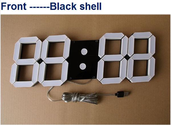 montre murale digitale led. Black Bedroom Furniture Sets. Home Design Ideas