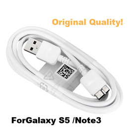 Wholesale Hdd Usb Cable - Original Quality Galaxy S5 Note 3 Micro USB 3.0 Data Sync Charger Cable Cord USB3.0 For Samsung i9600 HDD