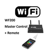 Wholesale Master Dc - NEW PRODUCTS 5-24V RGB Color Temperature Adjustable Dimmer WIFI LED Master Controller for LED Strip Lights by Mobile Android 2.1 or IOS4.3