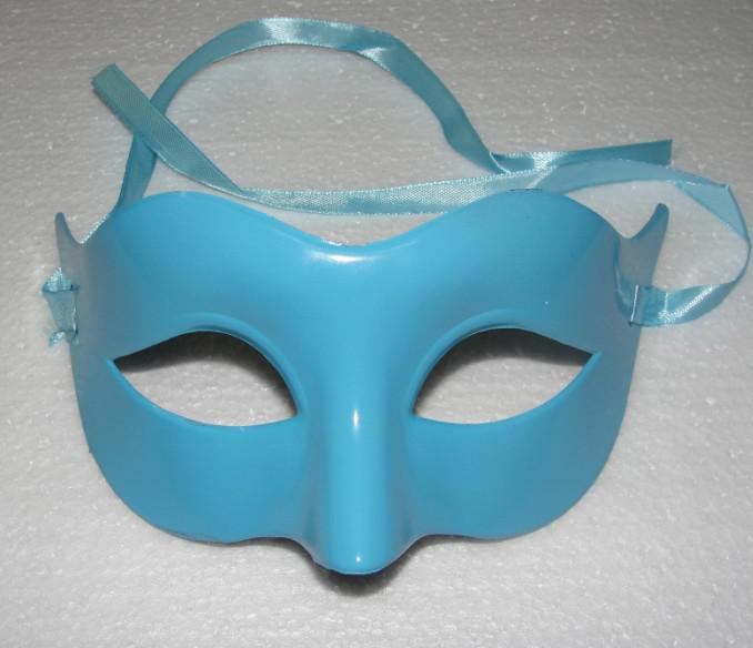 En düşük Fiyatlar Mens Maske Cadılar Bayramı Masquerade Maskeleri Mardi Gras Venedik Dans Partisi Yüz Maskesi Karışık Renk