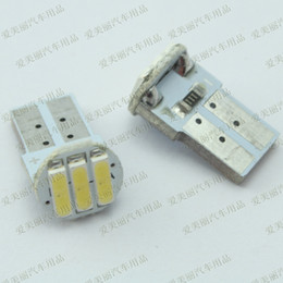 pcb lamp NZ - High quality 50 pcs T10 PCB 3 SMD 7014 3 led Car side Light Reverse Lights bulb Door Lamps 3smd