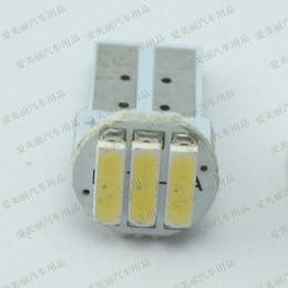 2019 bmw e46 ampoules Haute qualité 20 pcs T10 PCB 3 SMD 7014 3 led côté voiture lumière inversée ampoule lampes de porte 3smd