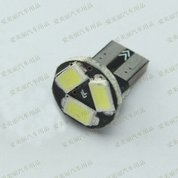 Wholesale pcb universal - High quality 50 pcs T10 PCB 3 SMD 5630 3 led Car side Light tail bulb Door Lamps
