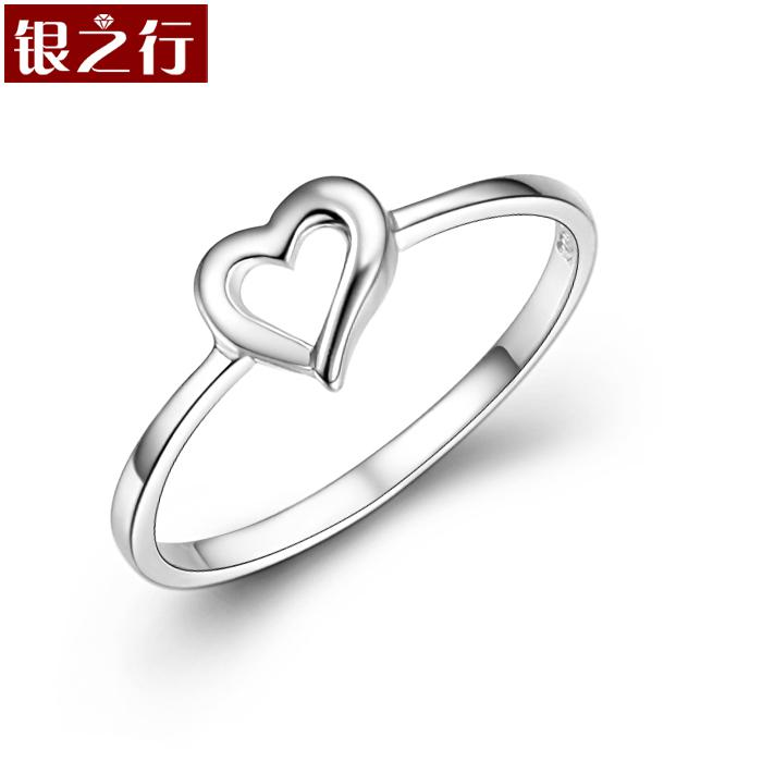 Cheap Valentine Hearts Cute Female Finger Tail Ring 925 Sterling Silver  Rings Sterling Silver Jewelry Korean