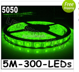 Wholesale 72w Led Strip Warm White - Cheapest led Strip Light warm white 5M 5050 SMD super Bright 72W Waterproof Flexible 300 LED blue cool white red green RGB 1000 Meter By DHL