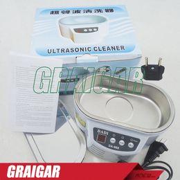 DADI DA-968 220V o 110V Acero inoxidable 30W / 50W limpiador ultrasónico con máquina de limpieza por ultrasonidos de pantalla desde fabricantes