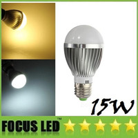 Wholesale 5x3w E27 - CE CSA UL + CREE E27 E26 15W 5X3W Led Bulbs Light Warm Natural Cool White E14 B22 GU10 Dimmable Led Spot Globe Lamp 110-240V Energy Saving