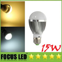 Wholesale Support Spot - Dimmable 15W E27 E26 Led Spot Bulbs Lights 700 lumens Warm Natural Cool White E14 B22 GU10 Led Globe Lights 110-240V + Support Mixed