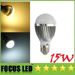 Wholesale Led Lamp 5x3w 15w Dimmable - CE ROHS UL CSA + E27 E26 15W Led Lights Globe Lamp 5X3W E14 B22 GU10 Dimmable Led Spot Bulbs Light Warm Natural Cool White 110-240V